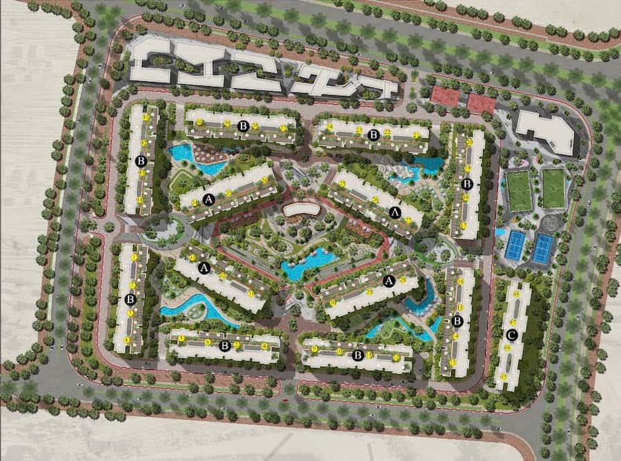 كمبوند سين 7 العاصمة الادارية الجديدة –  compound scene 7 new capital