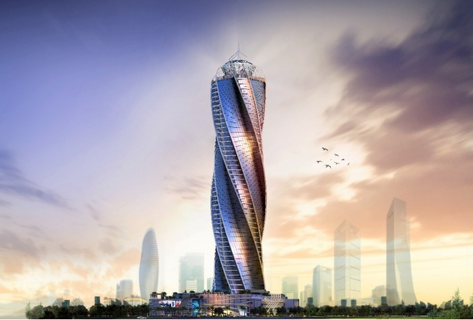 مشروع كابيتال دايموند تاور Capital Diamond Tower